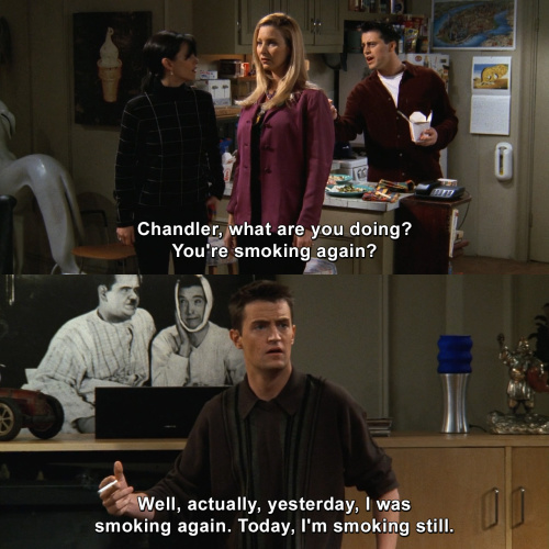 Friends - Chandler, what are you doing?