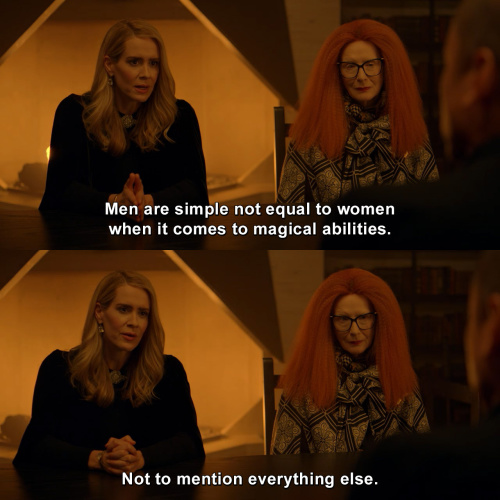 American Horror Story - Men are simple not equal to women
