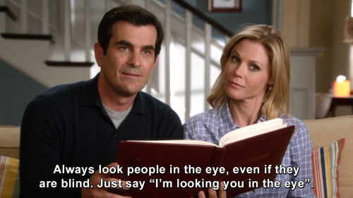 Modern Family - Always look people in the eye