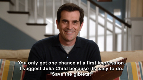 Modern Family - You only get one chance at a first impression.