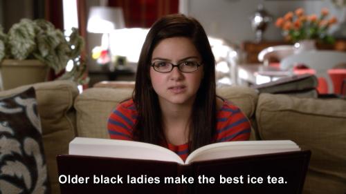 Modern Family - Older black ladies make the best ice tea.
