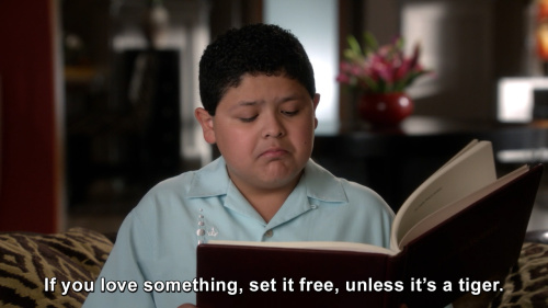 Modern Family - If you love something, set it free