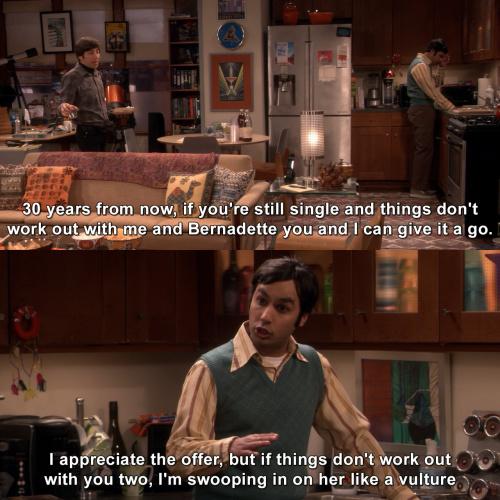 The Big Bang Theory - Too late, Stuart already called dibs