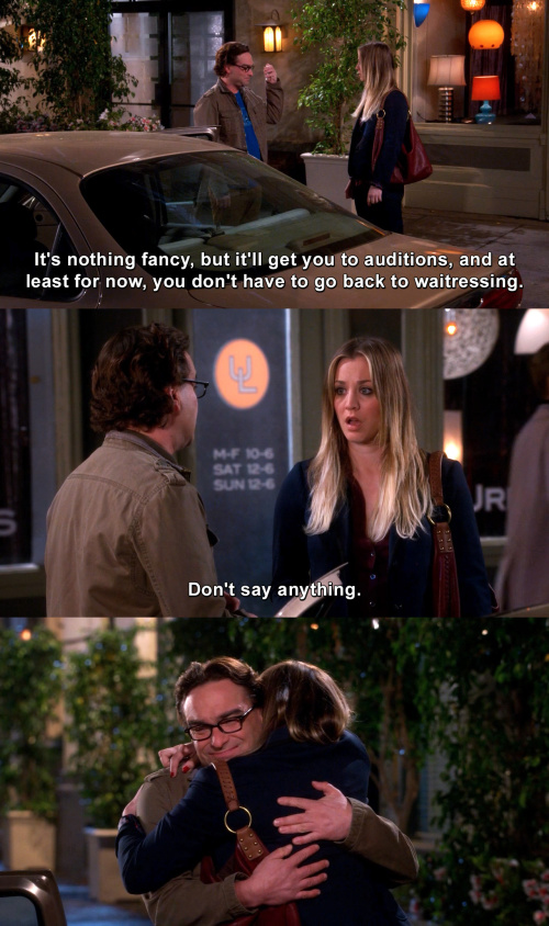 The Big Bang Theory - He's the best