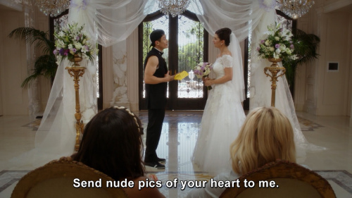 The Good Place - Send nude pics of your heart to me.