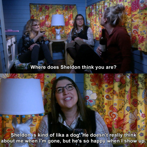 The Big Bang Theory - Where does Sheldon think you are?