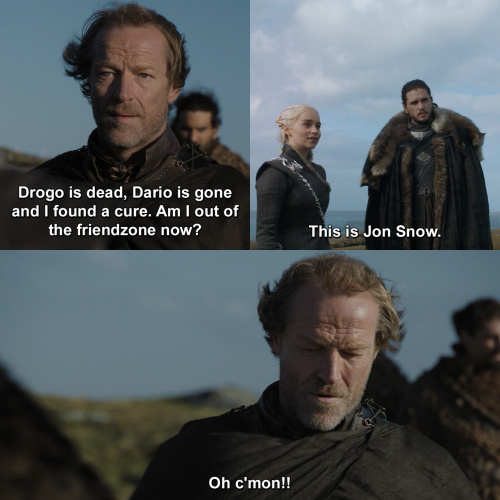 Game of Thrones - Drogo is dead, Dario is gone..