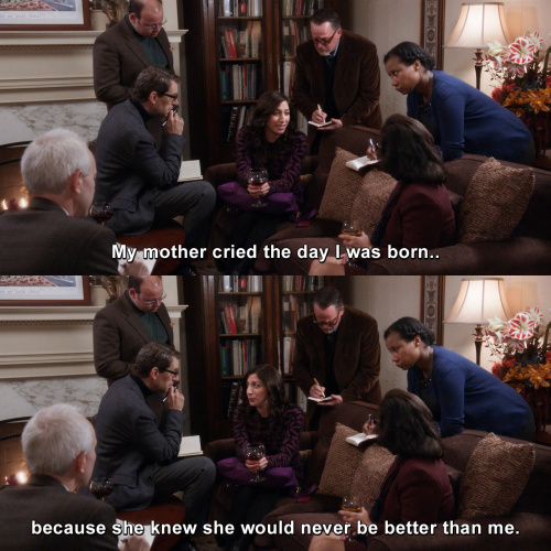 Brooklyn Nine-Nine - My mother cried the day I was born