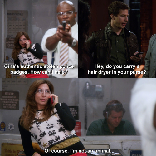 Brooklyn Nine-Nine - Gotta love Gina Linetti