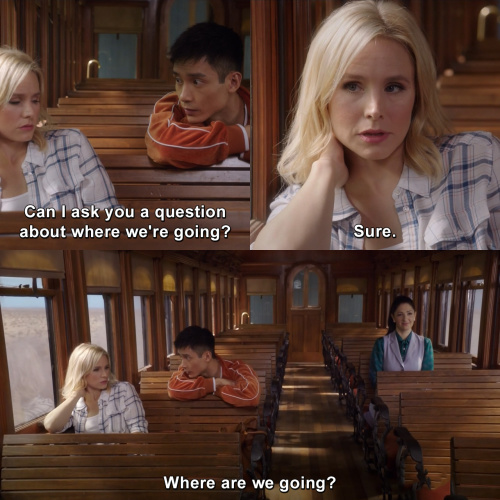 The Good Place - Where are we going?
