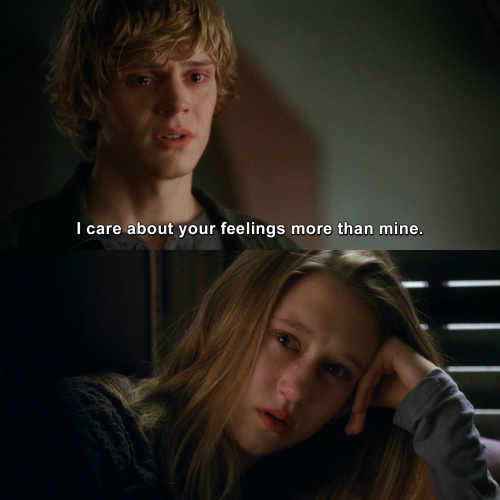American Horror Story - I care about your feelings more than mine.