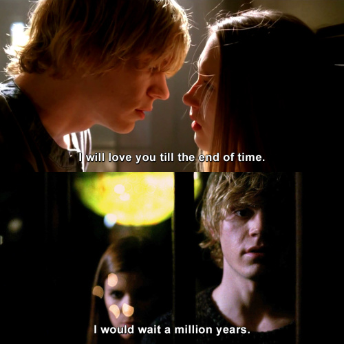 American Horror Story - I will love you till the end of time.