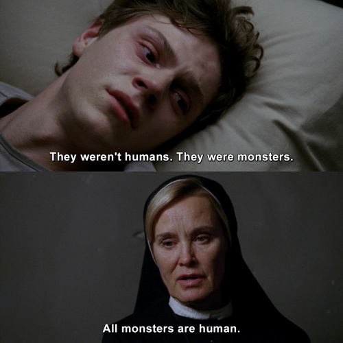 American Horror Story - They weren't humans.