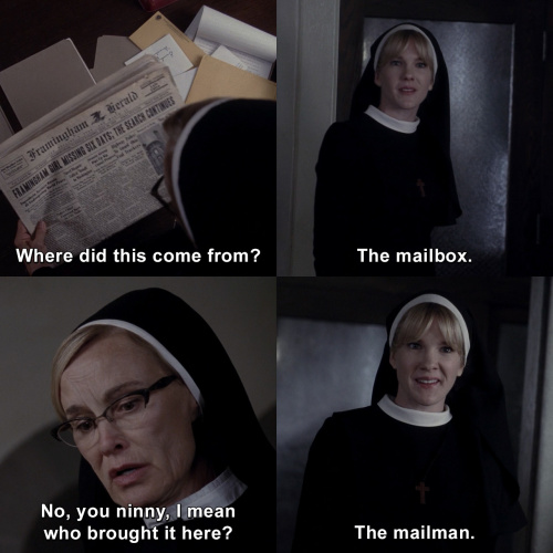 American Horror Story - Where did this come from?