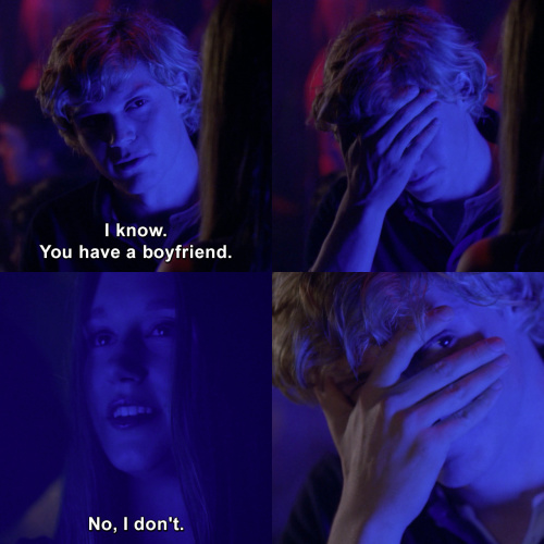 American Horror Story - You have a boyfriend.