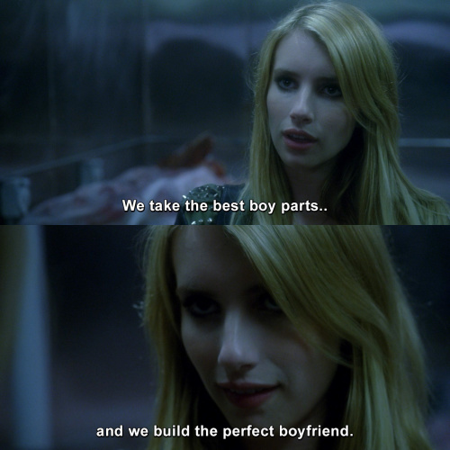 American Horror Story - We take the best boy parts