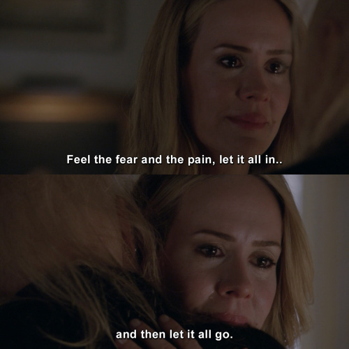 American Horror Story - Feel the fear and the pain, let it all in