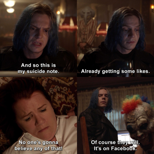 American Horror Story - Already getting some likes.
