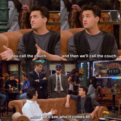 Friends - And then we'll call the couch…