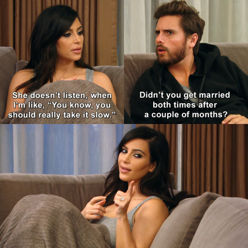 Keeping Up with the Kardashians - Kim knows best