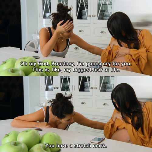Keeping Up with the Kardashians - The biggest fear of life