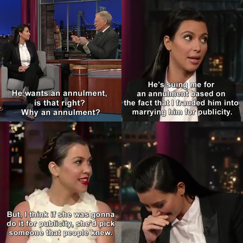 Keeping Up with the Kardashians - Kourtney burned Kris Humphries so hard he could feel it through the TV.