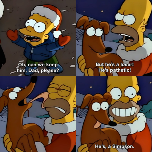 The Simpsons - Can we keep him, please