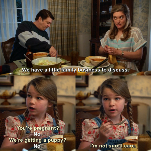 Young Sheldon - We have a little family business to discuss