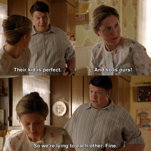 Young Sheldon - Their kid is perfect.