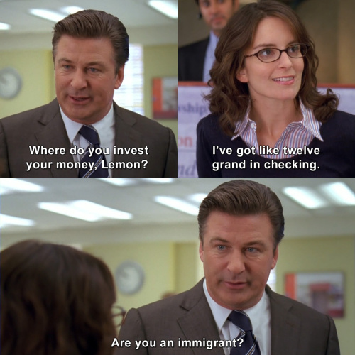 30 Rock - Where do you invest your money, Lemon?