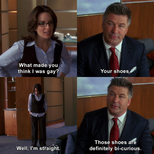 30 Rock - What made you think I was gay?