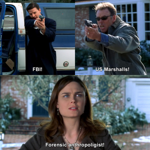 Bones - FBI!