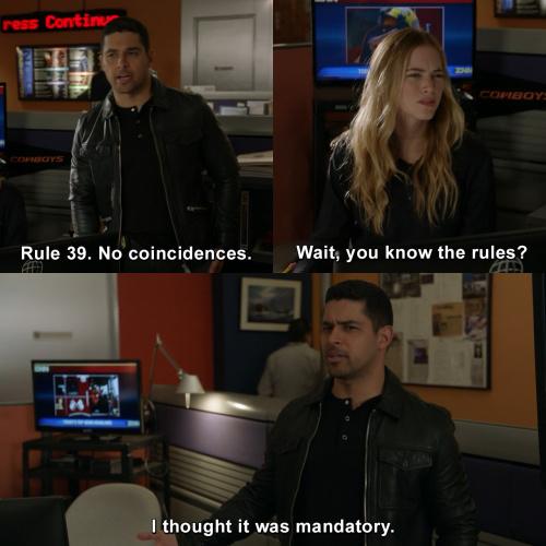 NCIS - Rule 39. No coincidences