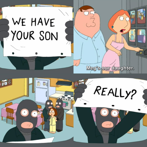 Family Guy - Really?