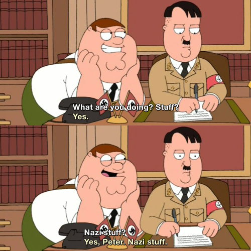 Family Guy - What are you doing?
