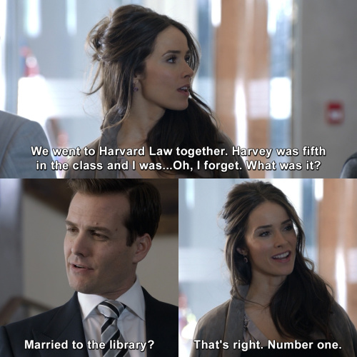 Suits - You two know each other?