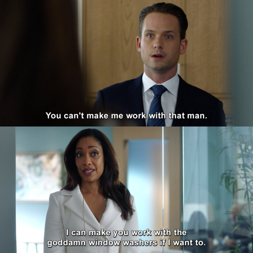 Suits - Yes she can