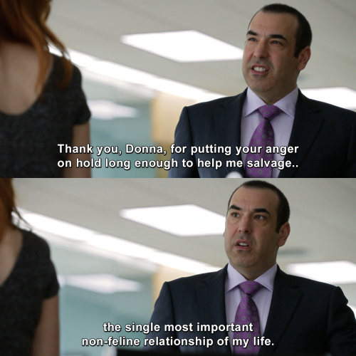 Suits - Thank you Donna