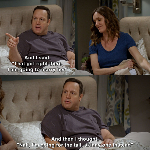 Kevin can wait - I am going to marry her