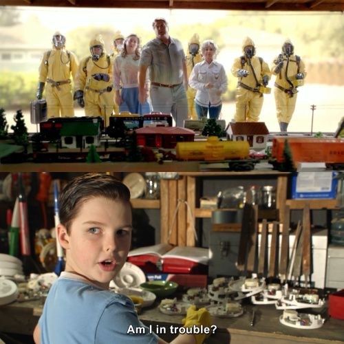 Young Sheldon - Am I in trouble?