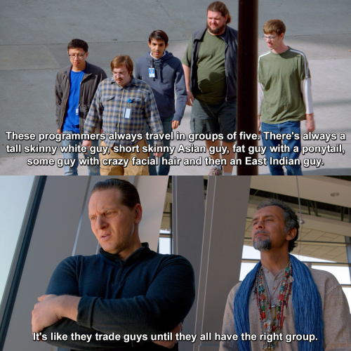Silicon Valley - They always travel in groups of five