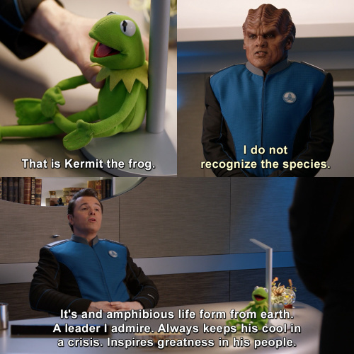 The Orville - I do not recognize the species.