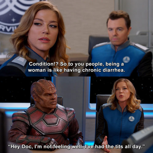 The Orville - Condition?