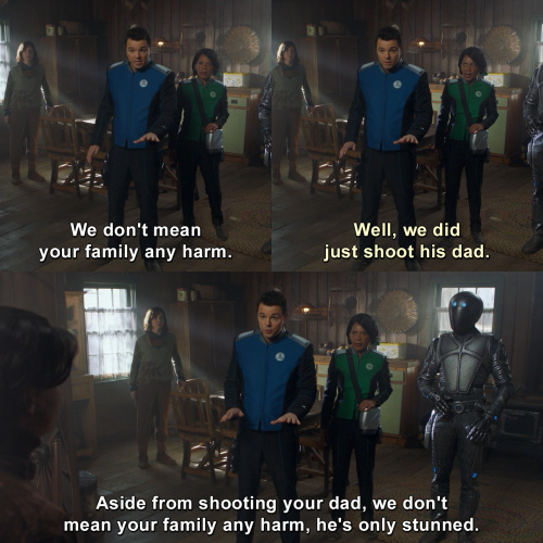 The Orville - We don't mean your family any harm.