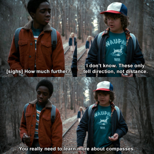 Stranger Things - How much further?