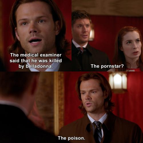 Supernatural - The pornstar?!
