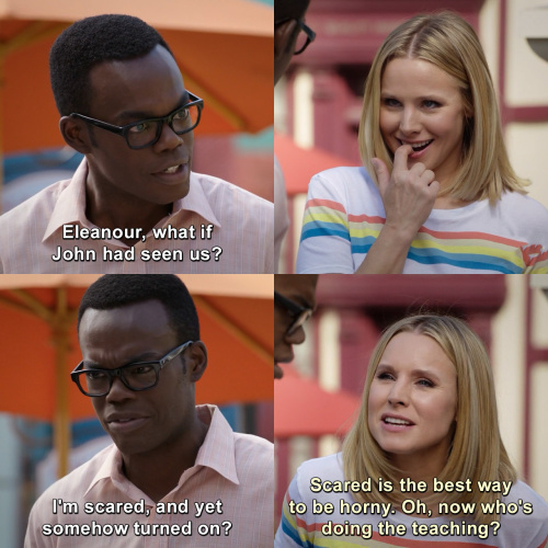The Good Place - Now who's doing the teaching?