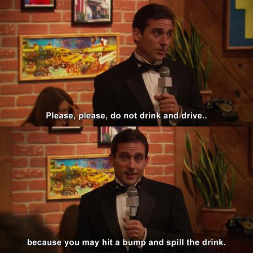 The Office - Do not drink and drive