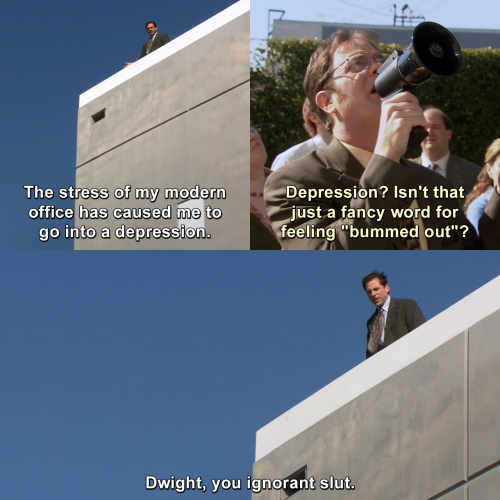 The Office - Dwight, you ignorant sl*!
