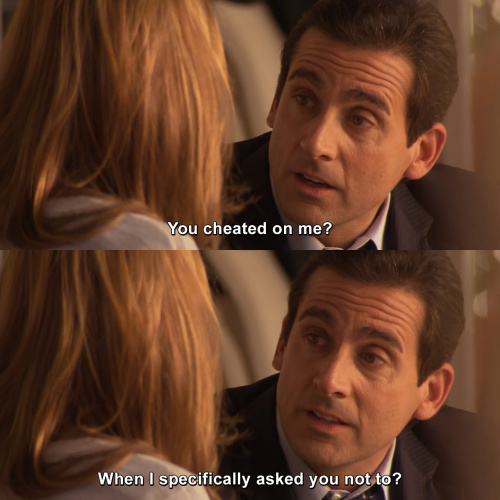 The Office - You cheated on me?